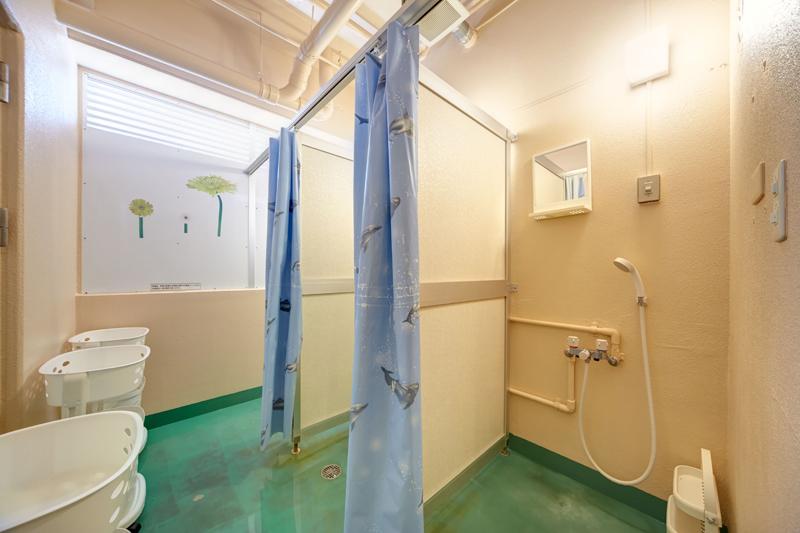 男性専用フロアシャワールーム