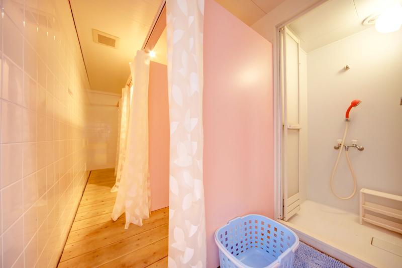 女性専用フロアシャワールーム